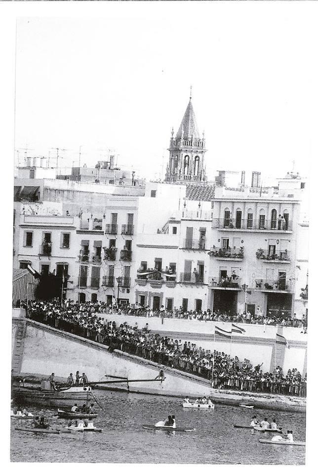El barrio de Triana en Sevilla.